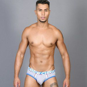 Andrew Christian Coolflex Modal Active Brief Grey
